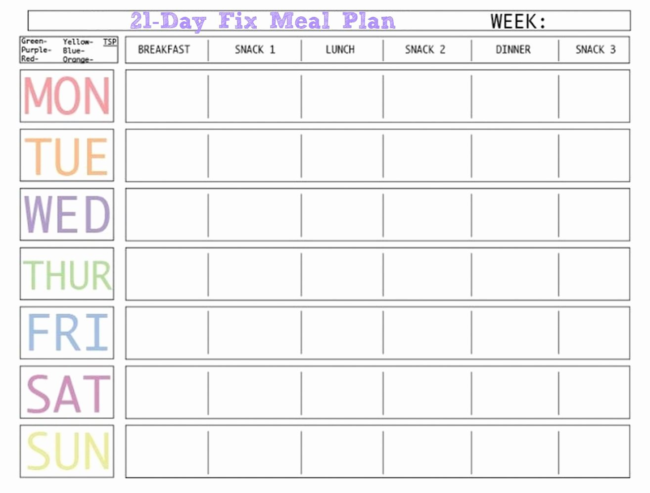 Weekly Meal Plan Template Awesome Here is A Blank Meal Plan Template You Can Use Diet Plan