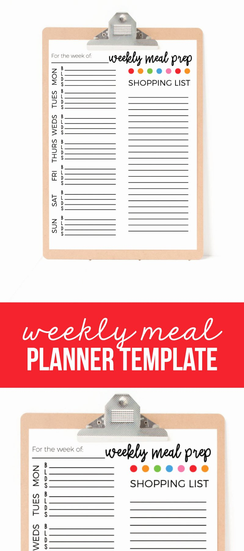 Weekly Meal Plan Template Elegant Weekly Meal Plan Template