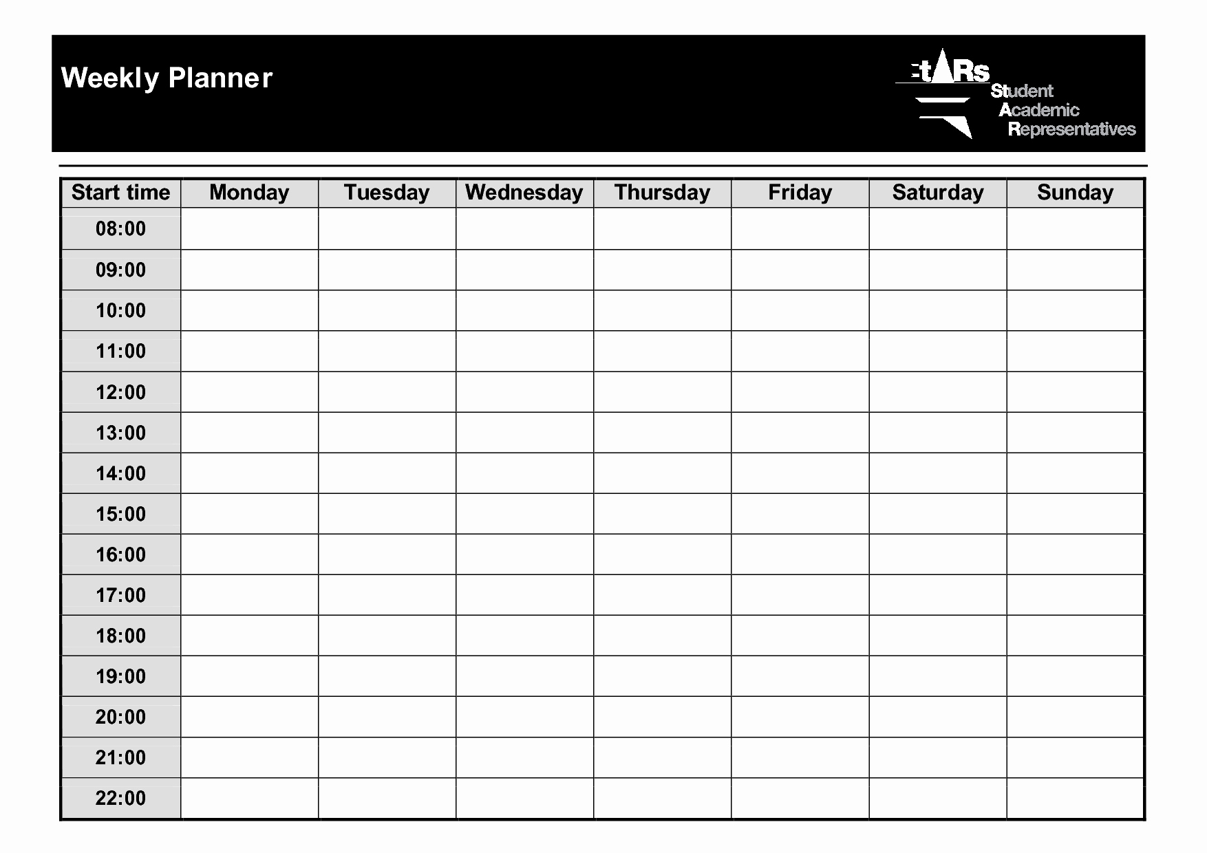 Weekly Planner Template Pdf Awesome Weekly Planner Template Pdf – Planner Template Free