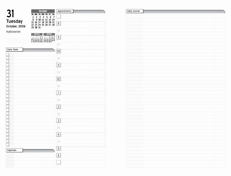 Weekly Planner Template Pdf Beautiful Daily Planner Template Pdf