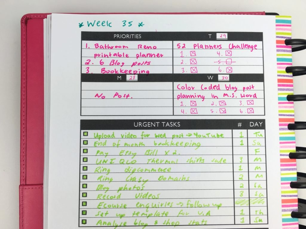 Weekly Planner Template Pdf Best Of Planning with A Functional Minimalist Diy Weekly Planner