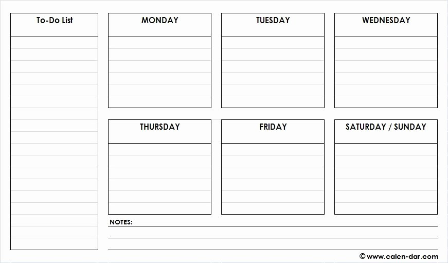 Weekly Planner Template Pdf Fresh Check Out Latest Free Printable Weekly Schedule Planner