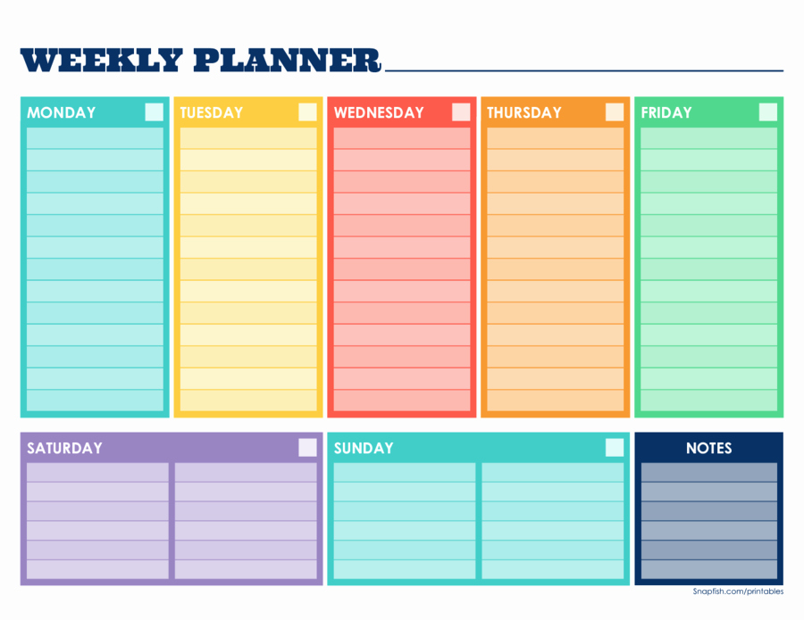 Weekly Planner Template Pdf Fresh Pin by Tubi Not Tubi On Planner Pages