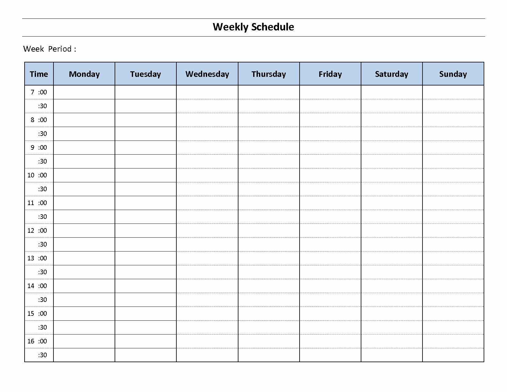 Weekly Schedule Templates Excel Luxury Construction Schedule Template Excel Free Download