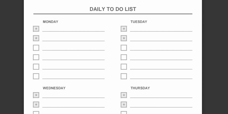 Weekly todo List Template Elegant Every to Do List Template You'll Ever Need Business 2