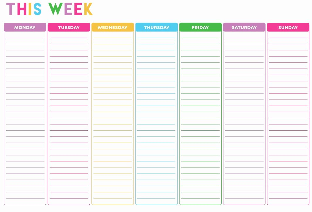 Weekly todo List Template New 10 Free Sample Weekly to Do List Templates Printable Samples