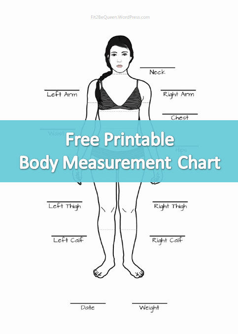 Weight Loss Measurement Chart Awesome Setting Goals