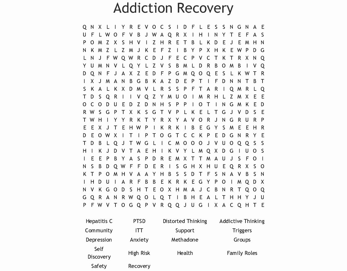 Wellness Recovery Action Plan Pdf Elegant Wellness Recovery Action Plan Word Search Wordmint