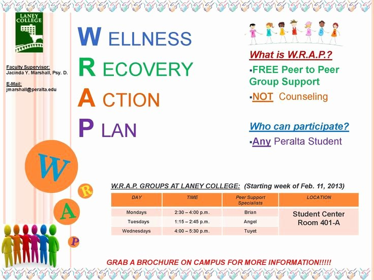 Wellness Recovery Action Plan Pdf Unique Wellness Recovery Action Plan Worksheet Template
