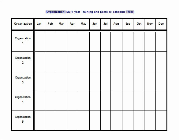 Work Out Schedule Templates Beautiful 10 Exercise Schedule Templates Docs Pdf