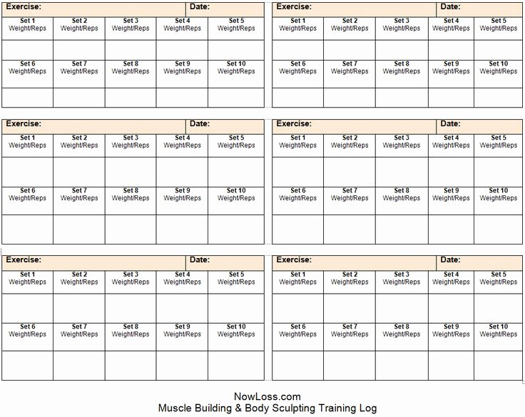 Work Out Schedule Templates Elegant Free Workout Schedule