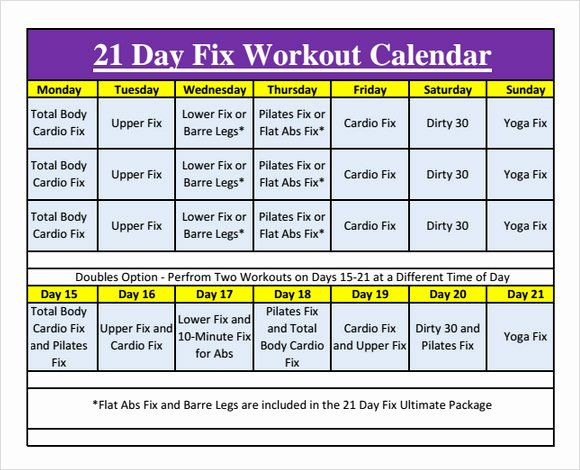 Work Out Schedule Templates Lovely 10 Sample Workout Calendar Templates In Pdf