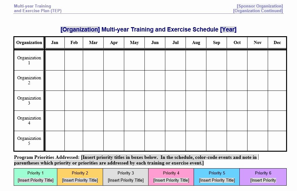 Work Out Schedule Templates Unique 8 Free Sample Exercise Schedule Templates Printable Samples
