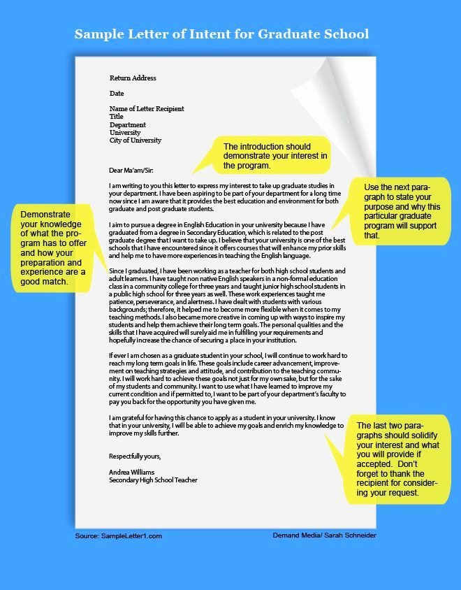 Writing A Letter Of Intent Best Of Example Of A Letter Of Intent