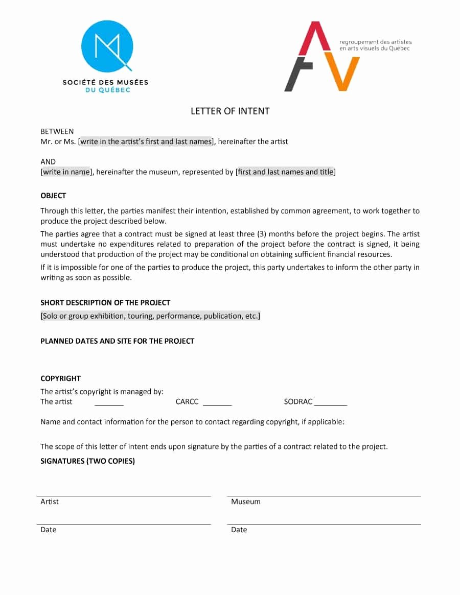 Writing A Letter Of Intent Luxury 40 Letter Of Intent Templates & Samples [for Job School