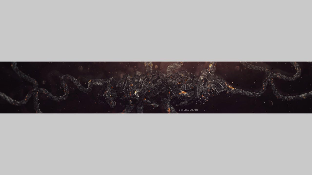 Youtube Banner Template No Text Best Of Banner Template by Stevendzngfx On Deviantart