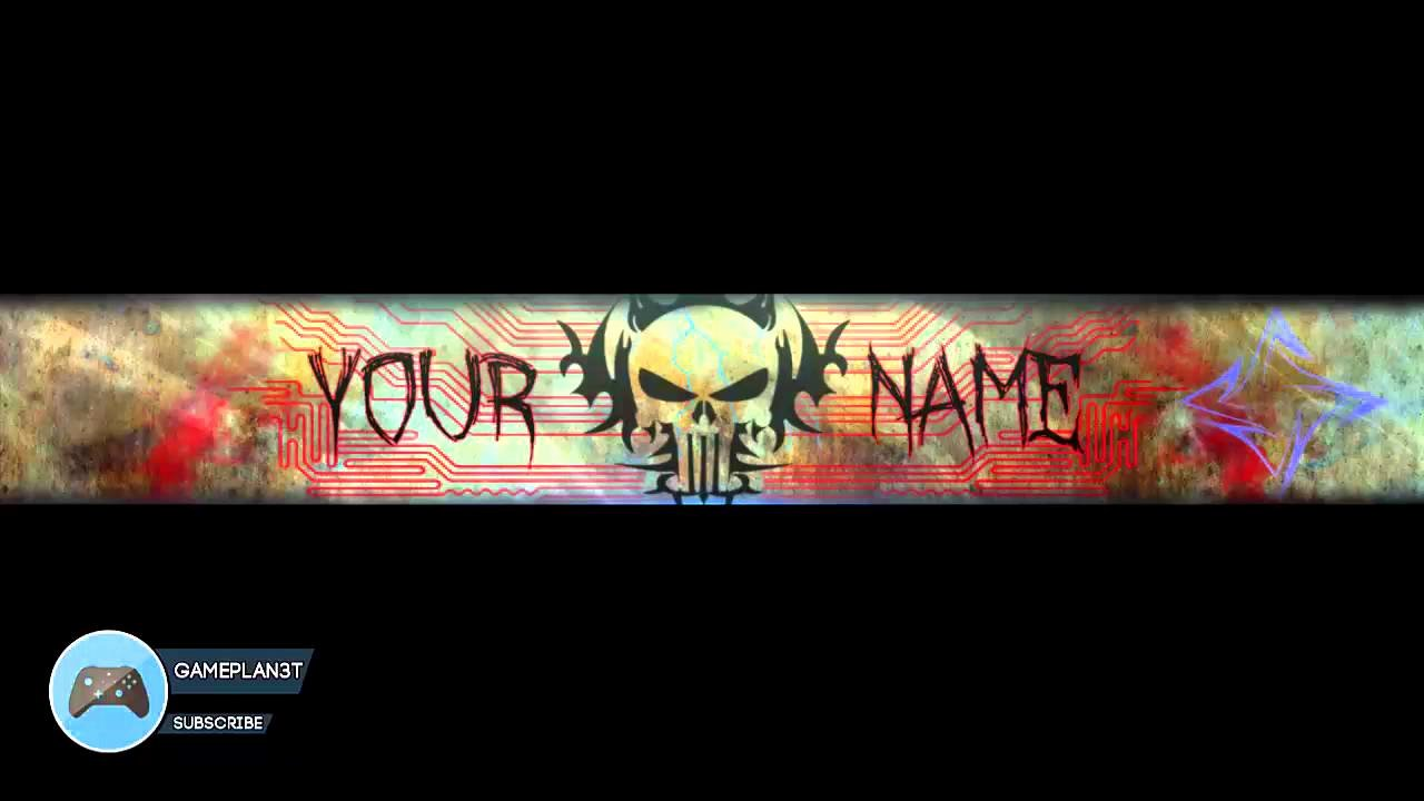 Youtube Banner Template No Text Fresh Mystery Youtube Banner Template