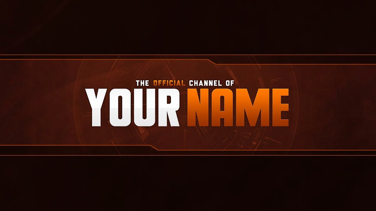 Youtube Banner Template No Text Luxury Free Banner Template Psd