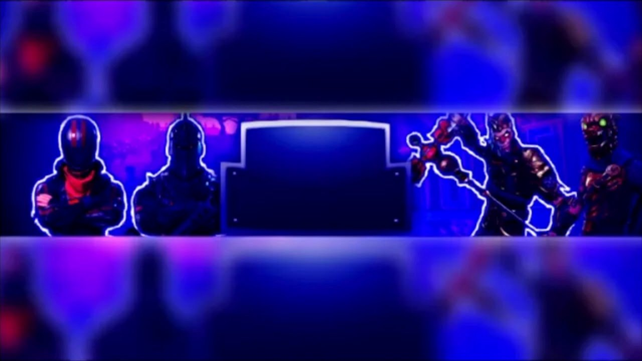 Youtube Banner Template No Text Unique fortnite Banner Template No Text