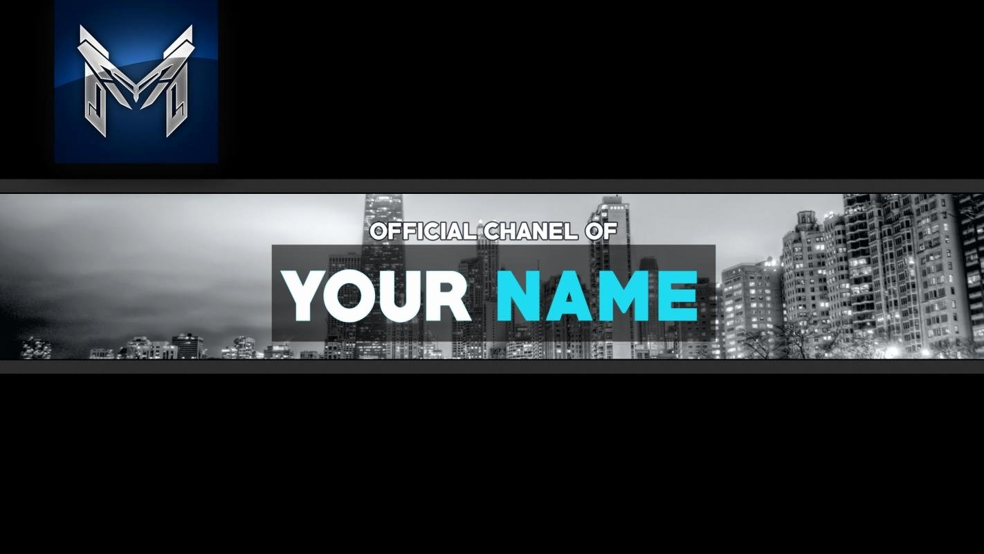 Youtube Banner Template Photoshop Best Of Free Youtube Banner
