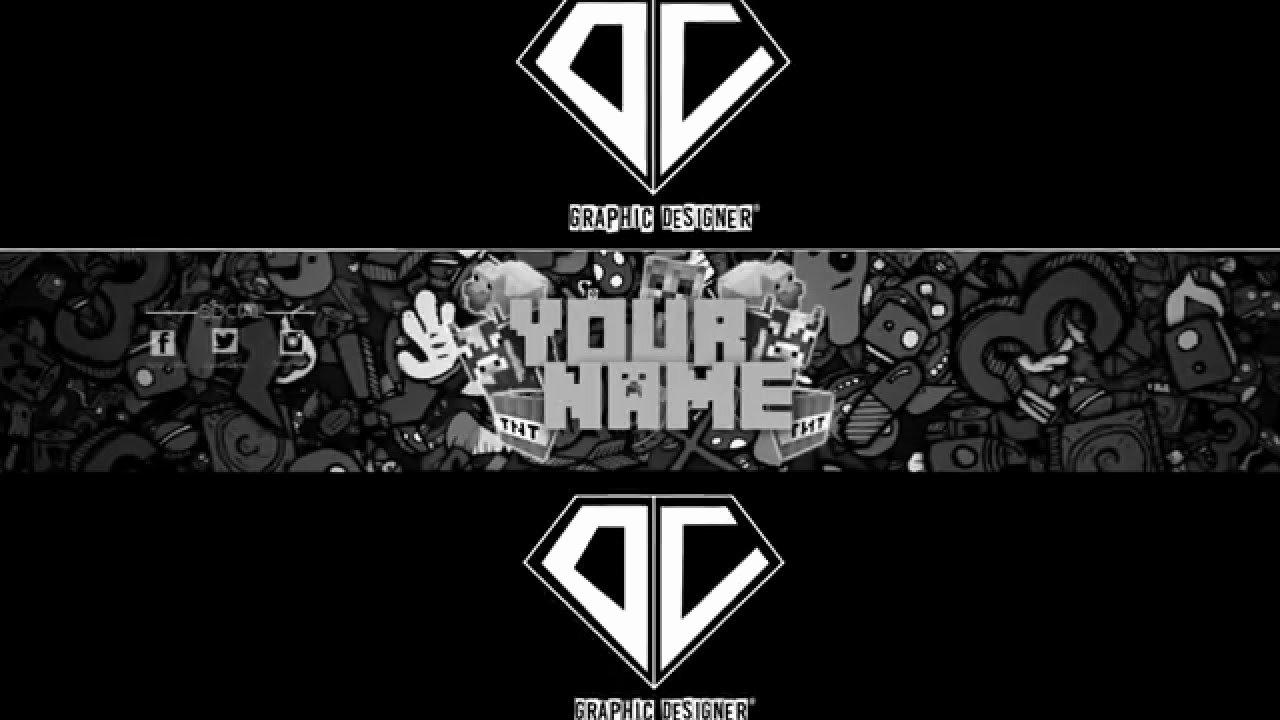 Youtube Banner Template Photoshop Elegant Free Youtube Banner Template Minecraft [ Shop]