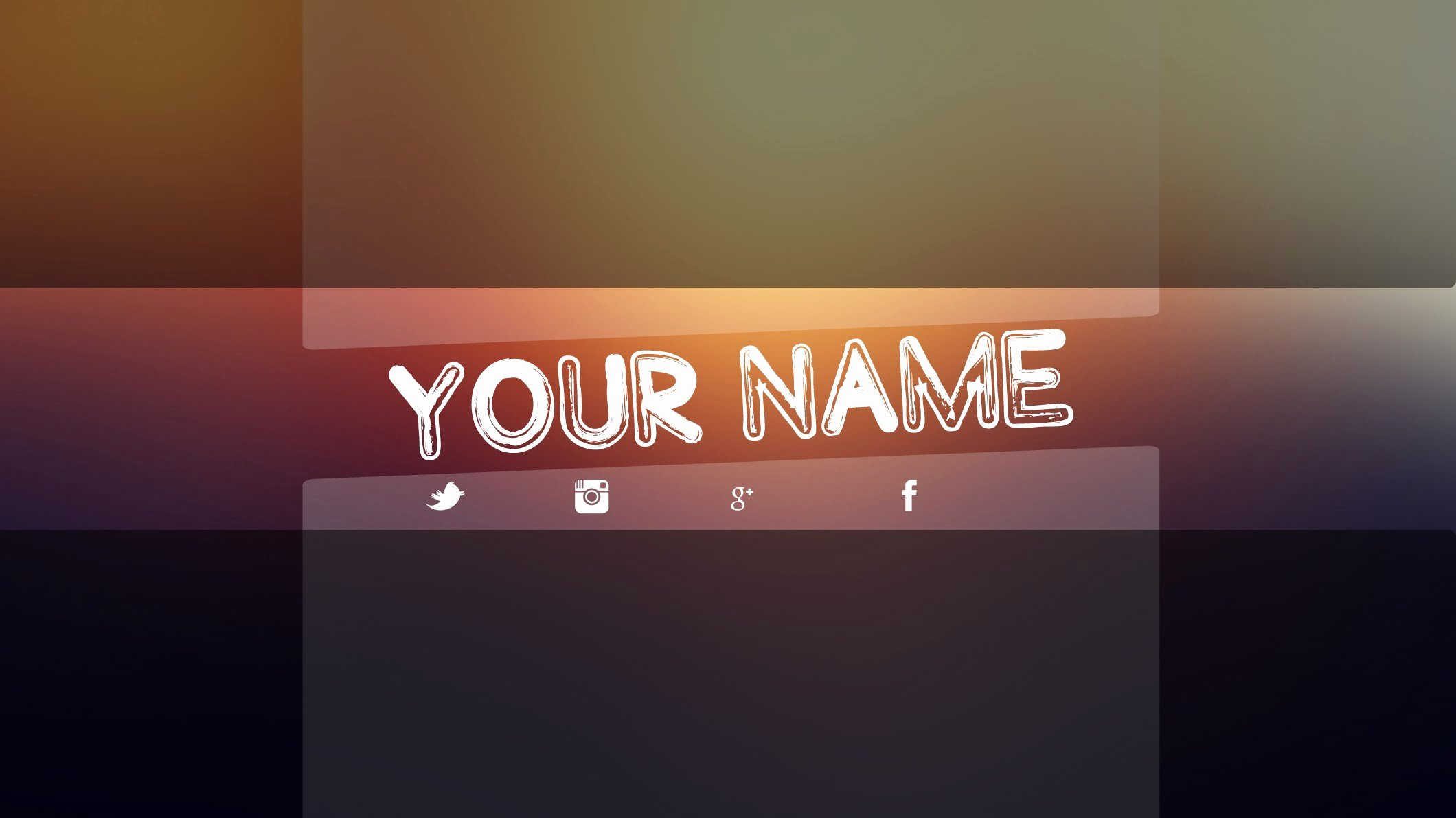 Youtube Banner Template Photoshop Elegant Youtube Banner Template Psd