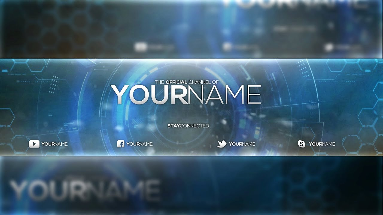 Youtube Banner Template Photoshop Inspirational Free Banner Template Psd Shop Cc & Cs6