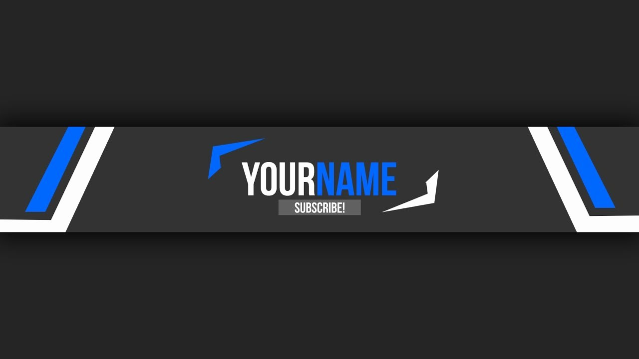 Youtube Banner Template Photoshop Luxury Free Youtube Banner Template 10