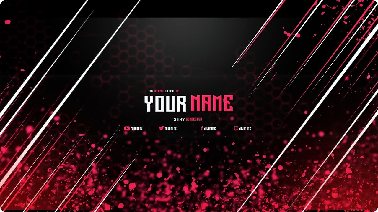 Youtube Banner Template Photoshop New Free Banner Template Photoshop Cs6