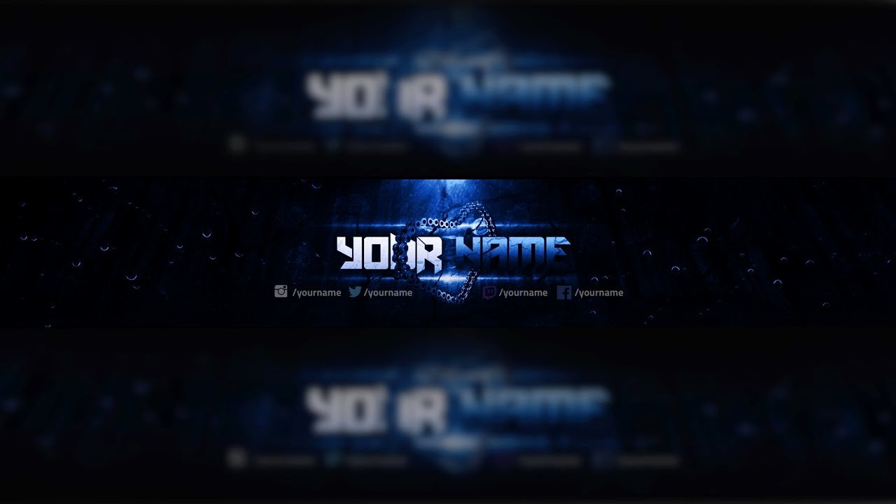 Youtube Banner Template Photoshop New Free Youtube Banner Template Design Shop Download