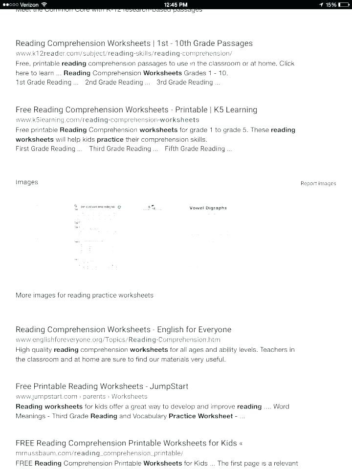 1st Grade Comprehension Worksheets Free 1st Grade Reading Prehension Math – Beatricehewub