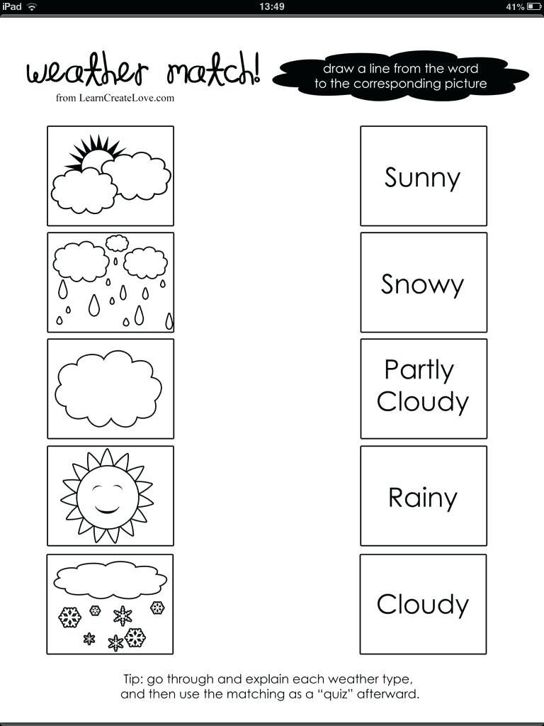 1st Grade Weather Worksheets Free 1st Grade Worksheet Science 1st Grade Free