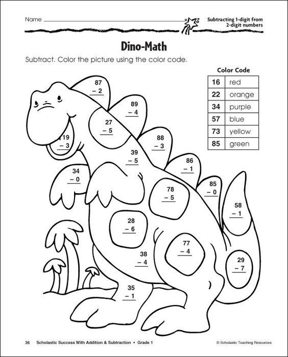 2 Digit Addition Coloring Worksheets Free Addition and Subtraction Coloring Pages Download Free