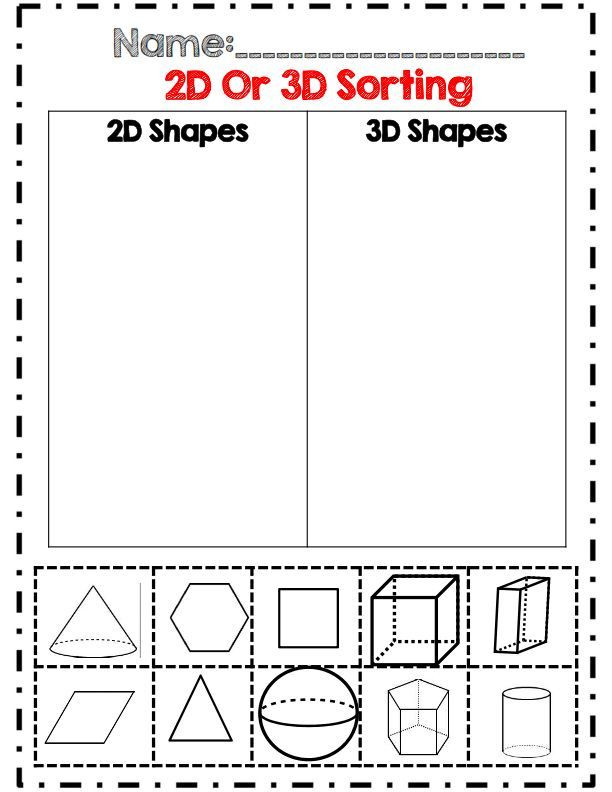 2d Shapes Worksheet Kindergarten Geometry Unit Mon Core Aligned with assessments
