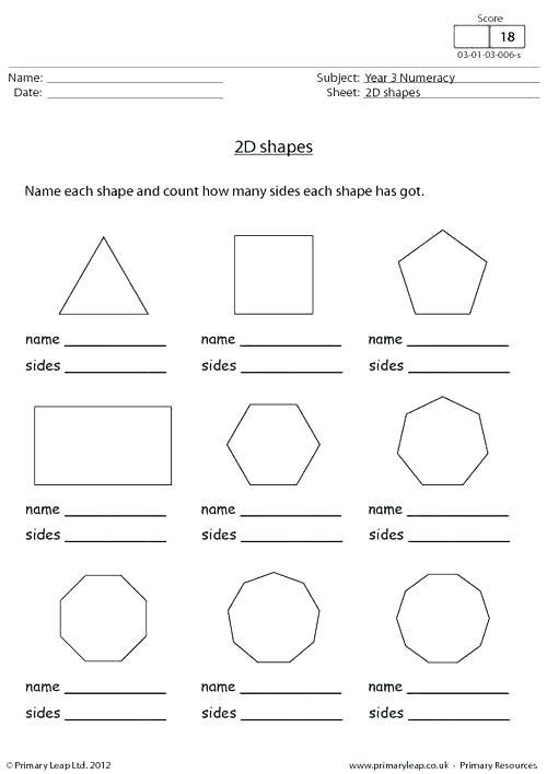 2d Shapes Worksheet Kindergarten Shapes Worksheets for Grade 2 Shapes Worksheet Naming