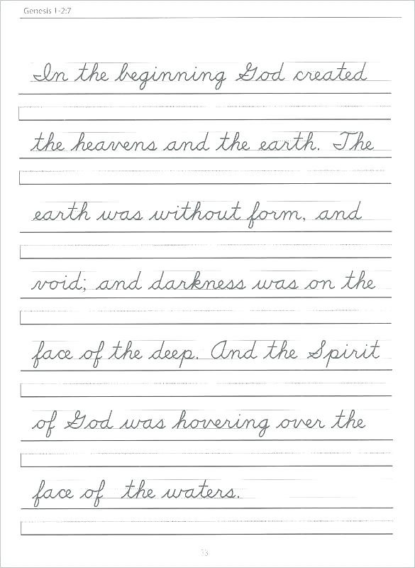 2nd Grade Handwriting Worksheets Cursive Writing Worksheets for 2nd Grade – Keepyourheadup