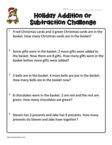 2nd Grade Math Challenge Worksheets 2nd Grade Word Problems Worksheets