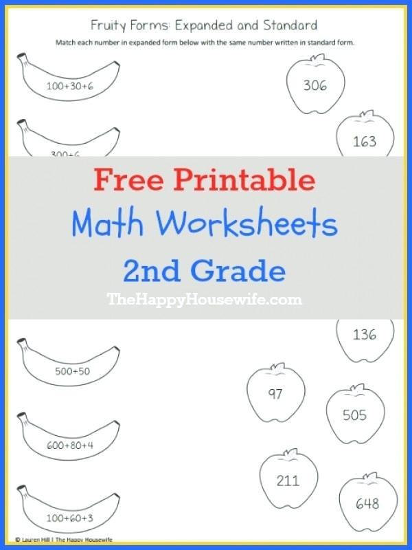 2nd Grade Math Challenge Worksheets Second Grade Math Worksheets Pdf Grade Math Worksheets