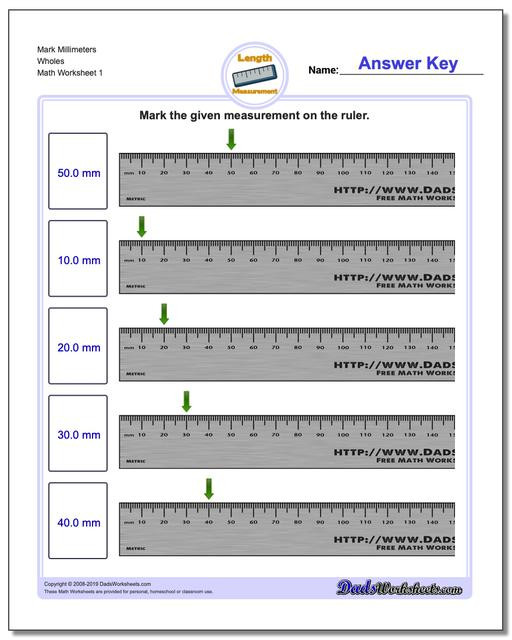 2nd Grade Measurement Worksheet Metric Measurement