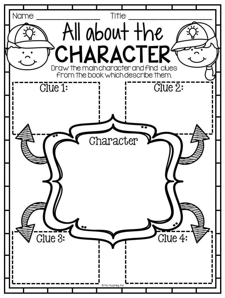 2nd Grade Reading Response Worksheets Character Reading Response Worksheet This Huge Reading