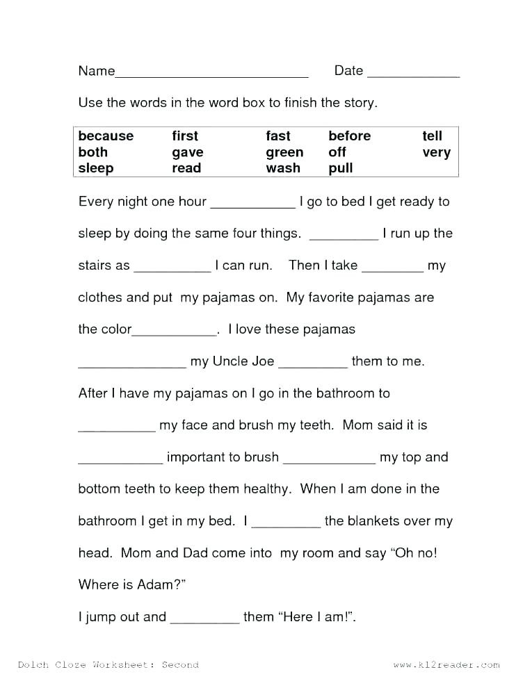 2nd Grade Reading Worksheets Printable 2nd Grade Reading Worksheets Free Printable Grade Reading