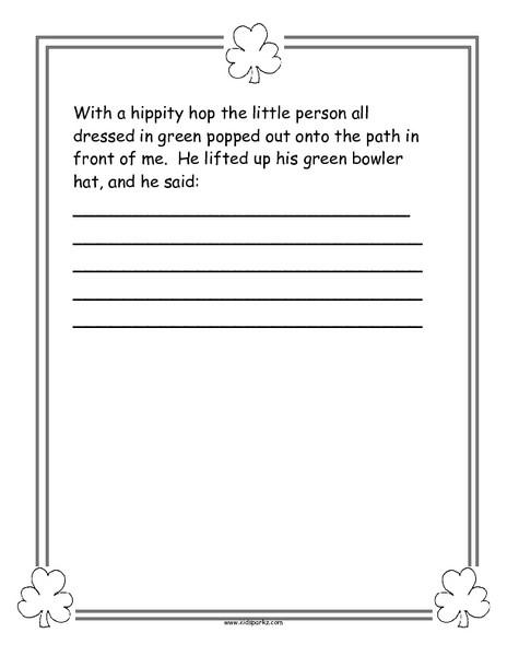 2nd Grade Writing Worksheets Creative Writing Worksheets for 2nd Grade Curiojogos