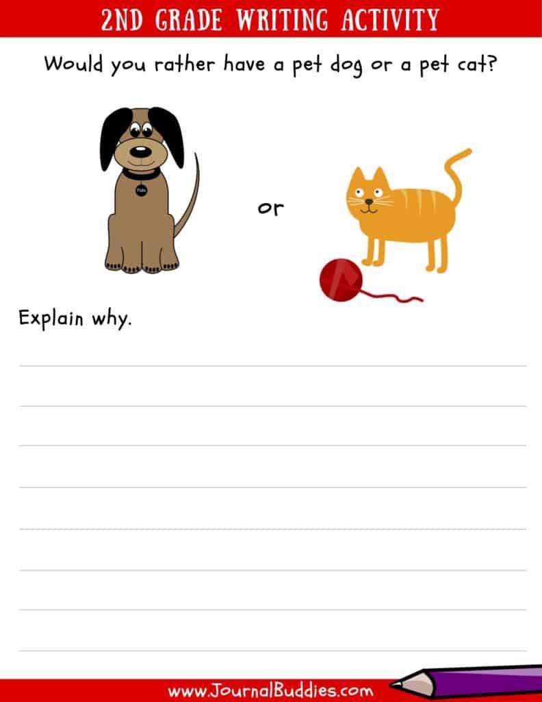 2nd Grade Writing Worksheets Writing Worksheets for 2nd Grade • Journalbud S