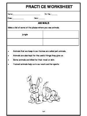 3rd Grade Habitat Worksheets Animals In their Habitats Worksheets – Keepyourheadup
