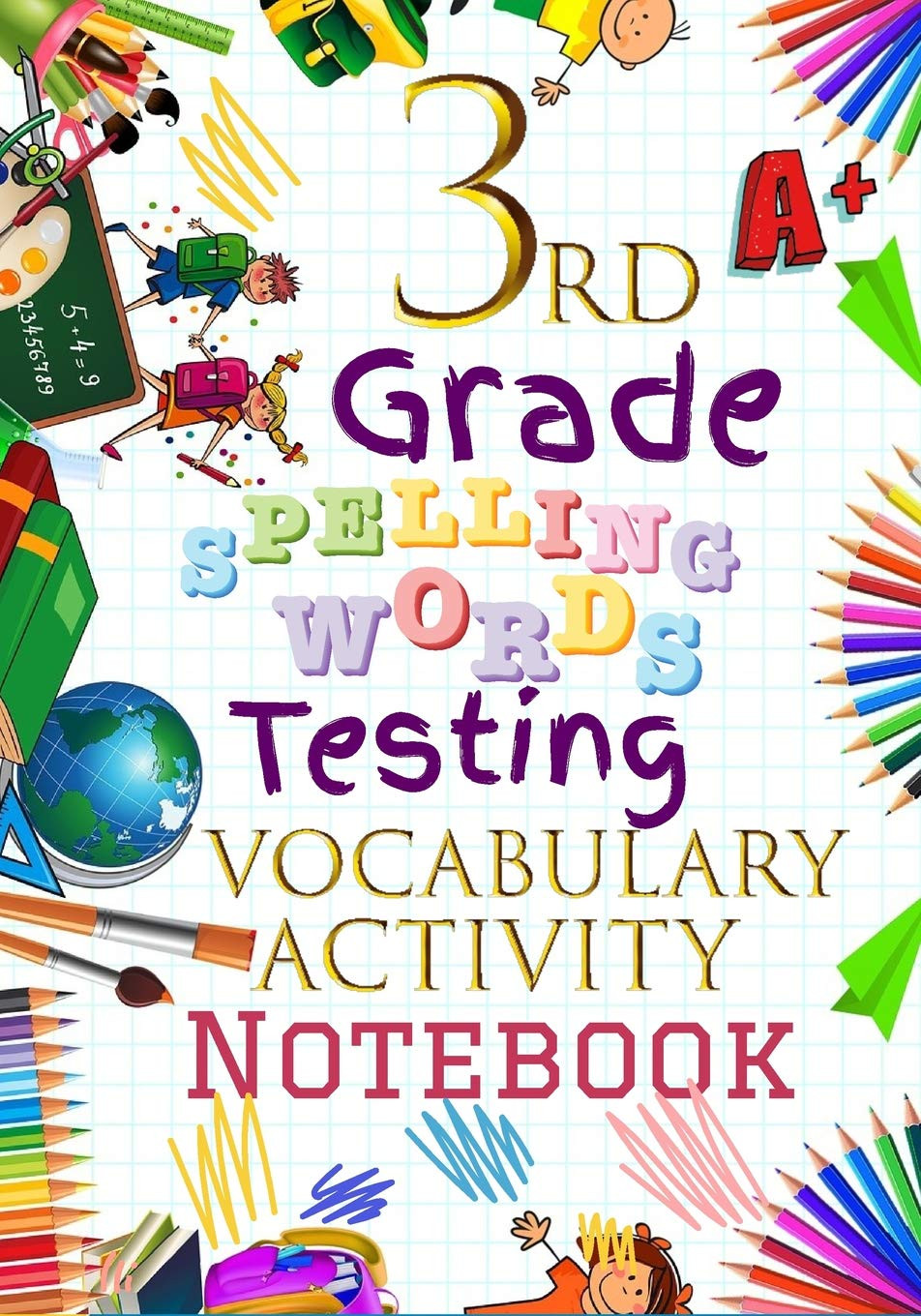 3rd Grade Spelling Worksheets 3rd Grade Spelling Words Testing Vocabulary Activity