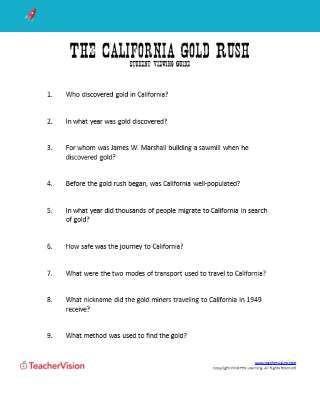 4th Grade History Worksheets Printable Worksheets for Teachers K 12 Teachervision