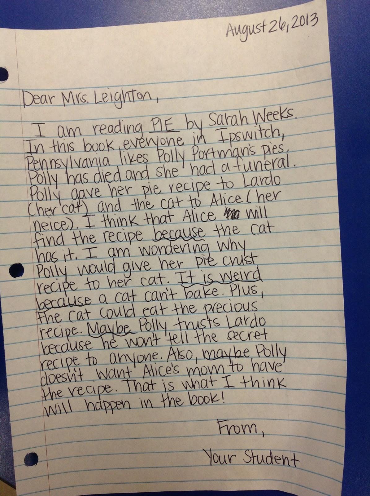 4th Grade Reading Response Worksheets Mrs Leighton S 4th Grade Homework Reading Response