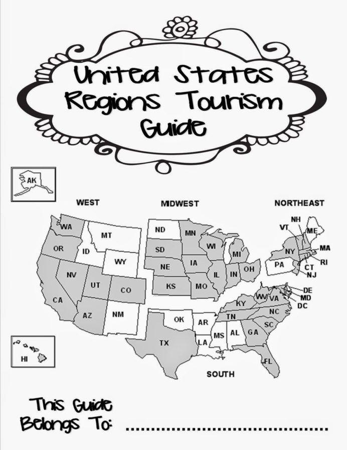 5th Grade History Worksheets Teaching the Us Regions social Stu S Middle School 5th