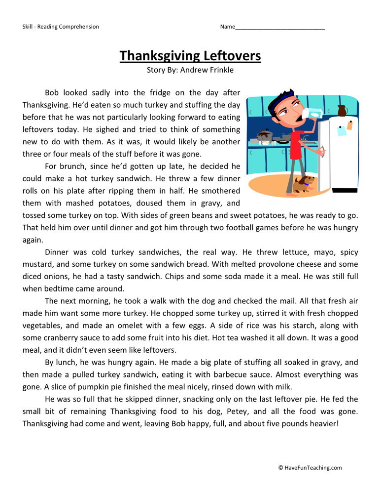 5th Grade Worksheets Printable Reading 28 [ Reading Worksheets for 5th Grade ]