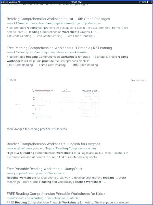 5th Grade Worksheets Printable Reading Prehension Passages for Grade 5 Pdf Prehension